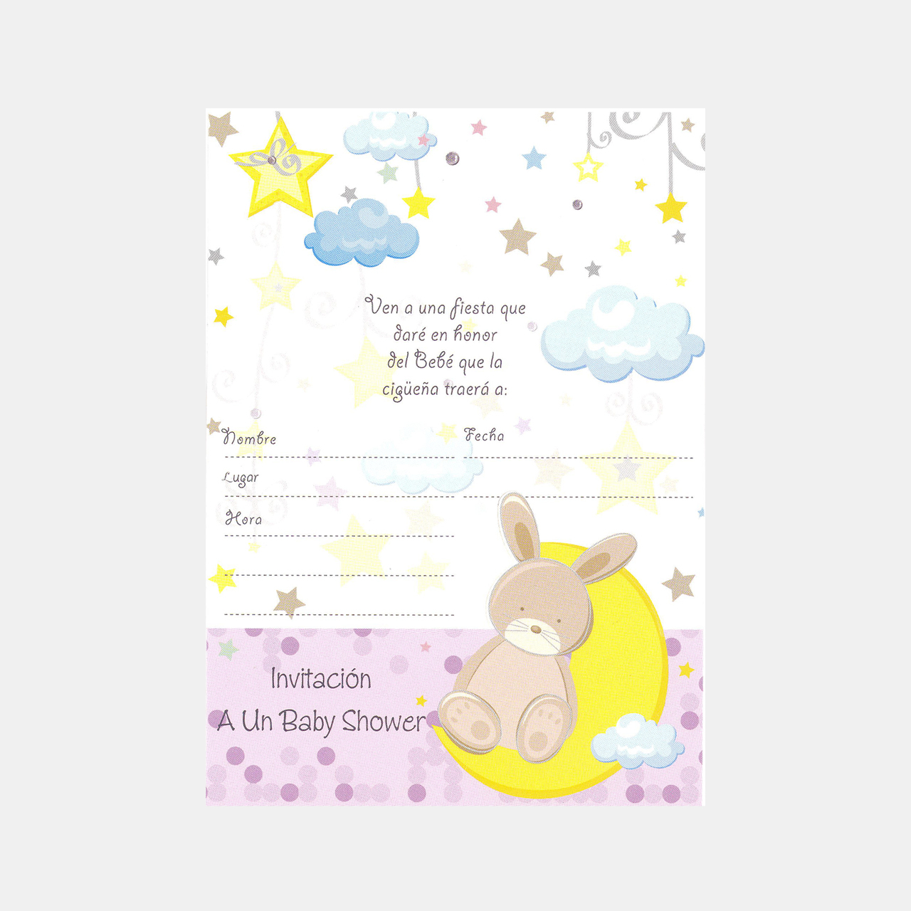BABY SHOWER INVITATION CARDS – Spanish – ABI USA Group
